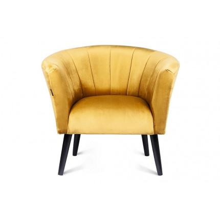 Fotel złota muszelka glamour MHT 199
