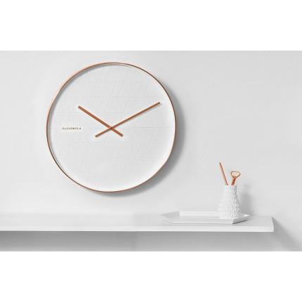 Zegar ścienny w geometryczne wzory Cloudnola MHD0-08-18