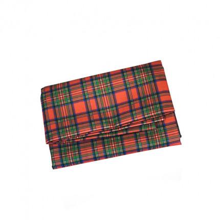 Obrus w czerwoną szkocką kratkę 220x140 cm MHA0-03-031