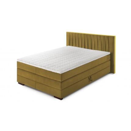 Łóżko kontynentalne dwuosobowe 140 cm MHB 125