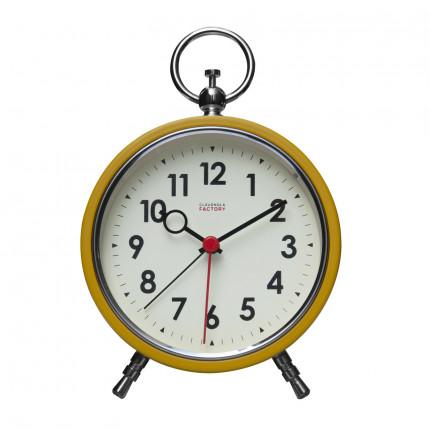 Żółty zegar z budzikiem retro Cloudnola MHD0-08-24