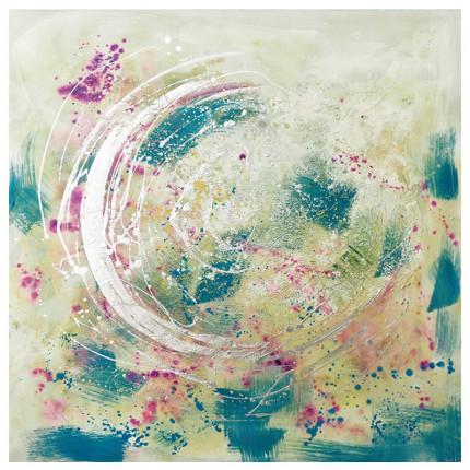 Ręcznie malowany obraz na płótnie –  Kropla II MHD0-10-31