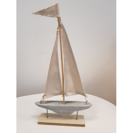 Figurka jacht na stojaku MHD0-09-37