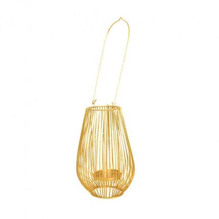 Złoty świecznik wysoka latarenka MHD0-05-02