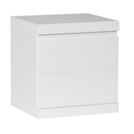 Biała szafka nocna Lara PINIO MHS3-26