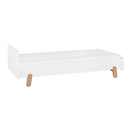 Oryginalne łóżko młodzieżowe 90x200 cm z kolekcji Iga PINIO MHB0-45