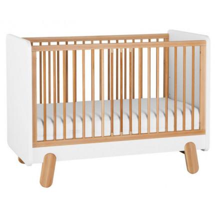 Łóżeczko do pokoju dziecięcego 120×60 cm Iga PINIO MHB3-19
