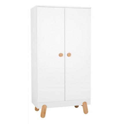 Szafa 2-drzwiowa do pokoju dziecięcego, z kolekcji Iga PINIO MHS5-12