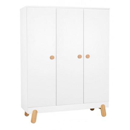 Szafa 3-drzwiowa do pokoju dziecięcego, z kolekcji Iga PINIO MHS5-11