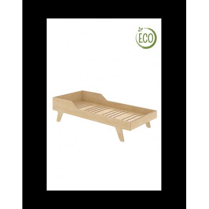 Łóżko Eco Dream, 180x90 cm, prawe, z ekologicznej sklejki NUKI MHB0-57