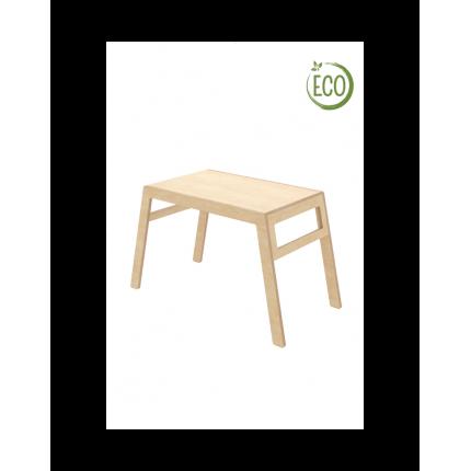 Krzesło tapicerowane czarne z poziomymi przeszyciami MHKO-105