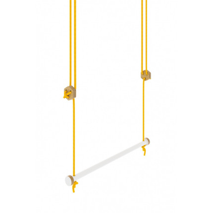 Huśtawka w kształcie trapezu 46 cm, z kolekcji Nuki MHD0-44