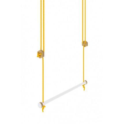Huśtawka w kształcie trapezu 56 cm, z kolekcji Nuki MHD0-45