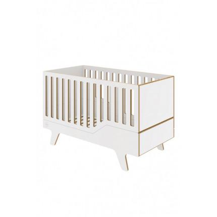 Łóżeczko Dream do pokoju dziecięcego NUKI 140×70 cm MHB3-16
