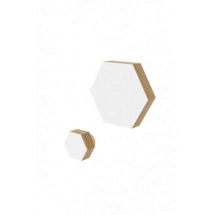 Drewniany wieszak heksagon Nuki MHW0-26