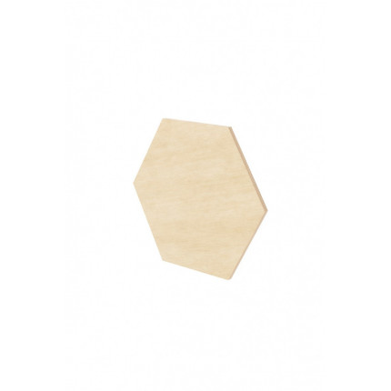 Dekoracyjny panel ścienny hexagon 33x28,5x0,6 cm Nuki MHM0-2