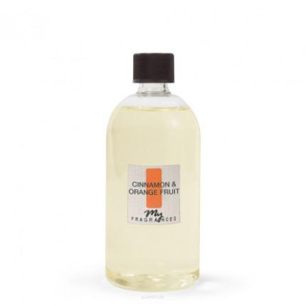 Cinnamon & Orange Fruit zapach do pomieszczeń uzupełniacz 500 ml