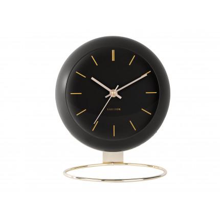Czarny, duży zegar na stojaku, Karlsson, MHD0-08-32