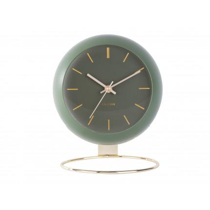 Zielony, duży zegar na stojaku, Karlsson, MHD0-08-34