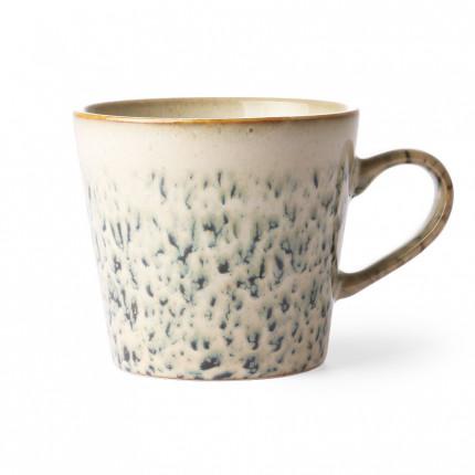 Kubek do cappuccino w stylu lat 70-tych, brązowy HKliving