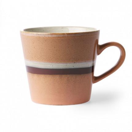Kubek do cappuccino w stylu lat 70-tych, HKliving