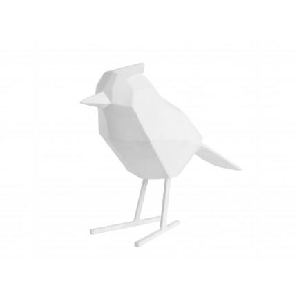 Figurka dekoracyjna duży, biały ptak MHD0-03-36