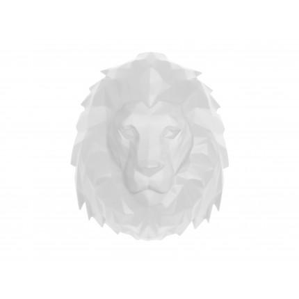 Ozdoba ścienna biały lew MHD0-09-51