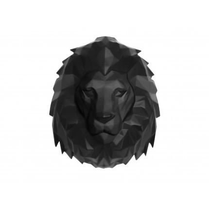 Ozdoba ścienna, czarny lew MHD0-09-50