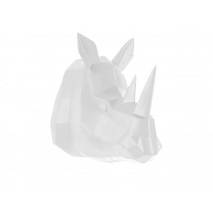 Ozdoba ścienna biały nosorożec MHD0-09-49