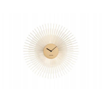 Złoty zegar ścienny słońce Karlsson MHD0-08-35