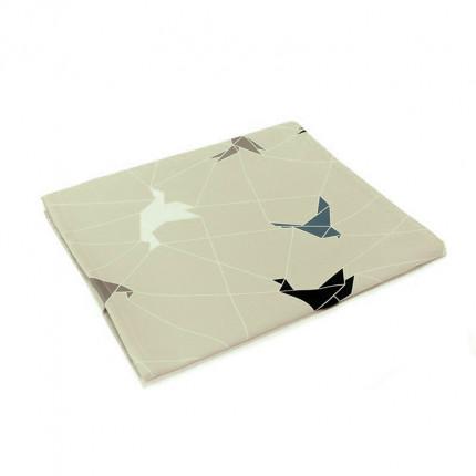 Bieżnik z motywem origami beżowy MHA0-03-18