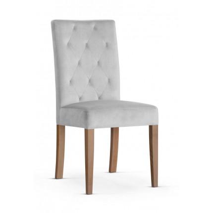 Luksusowe krzesło tapicerowane pikowane MHK0-47