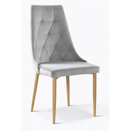 Krzesło tapicerowane glamour MHK0-99