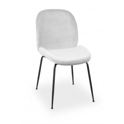Krzesło tapicerowane z metalowymi nogami MHK0-42
