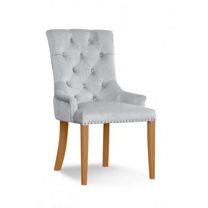 Królewskie krzesło tapicerowane z kołatką MHK0-29