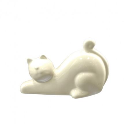 Ozdoba kot porcelanowy duży MHD0-09-10