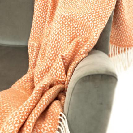 Pled GRAPHIC pomarańczowo-biały MHA0-04-12