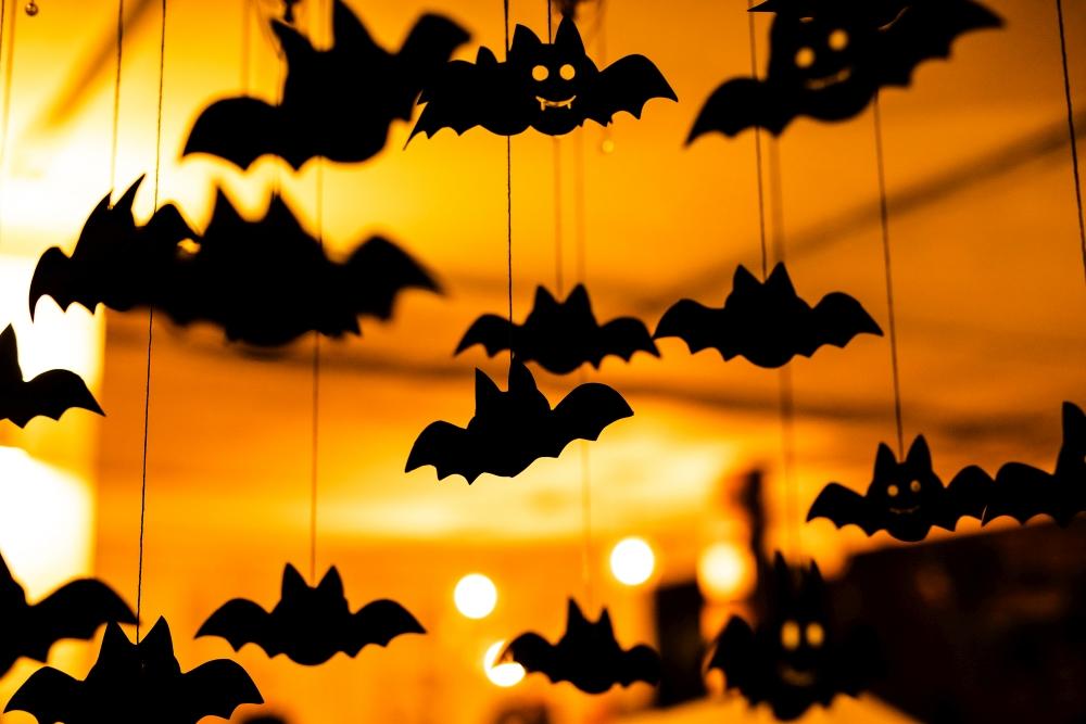 dekoracyjne nietoperze