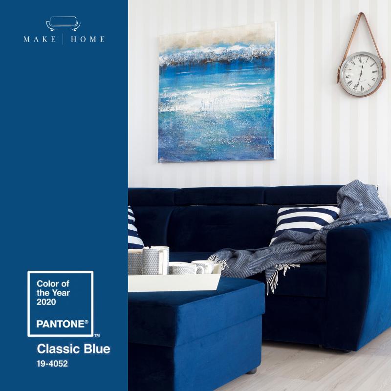 classic blue w make home