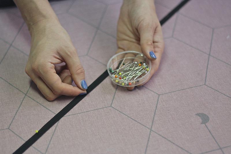 Mocowanie gumek