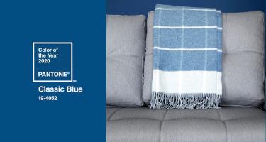 Classic Blue kolorem roku 2020 według Pantone