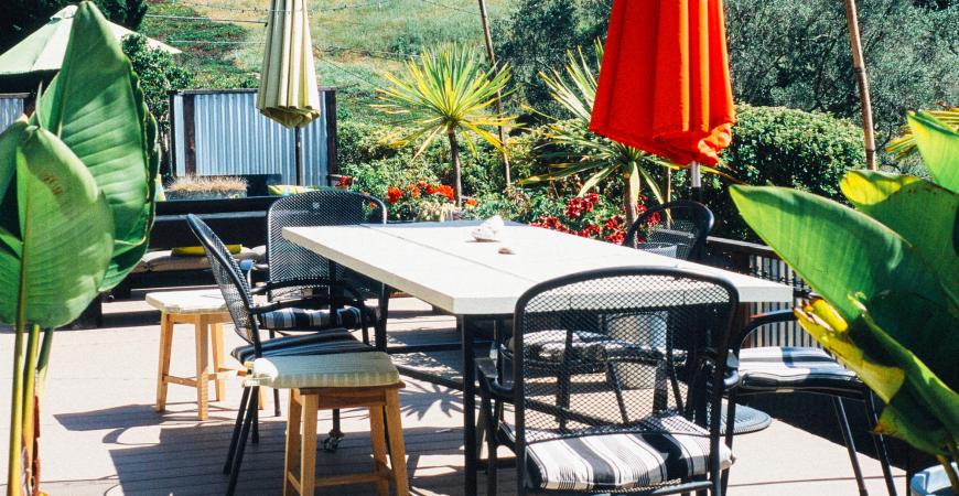 Aranżacja tarasu i balkonu